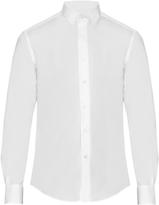 Lanvin Long-sleeved cotton-poplin shirt