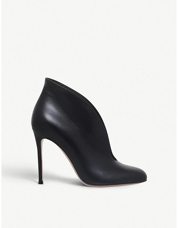 Gianvito Rossi Vamp leather booties