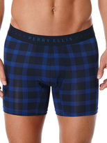 Perry Ellis Luxe Plaid Boxer Brief