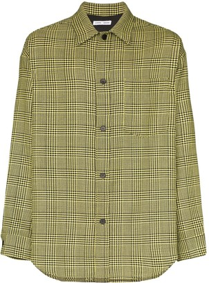Cmmn Swdn Prince of Wales checked shirt
