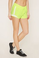 Forever 21 FOREVER 21+ Active Mesh-Paneled Shorts