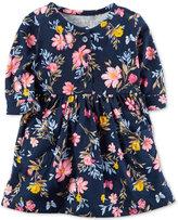 Carter's Floral-Print Cotton Dress, Baby Girls (0-24 months)