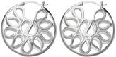 Sterling Silver Round Fashion Earrings