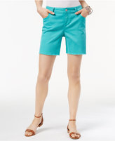 INC International Concepts Curvy Cutoff Shorts, Created for Macy's