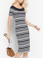 Michael Kors Striped Knit Dress