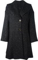 Agnona flared buttoned coat