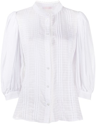 See by Chloe Lace-Detail Shirt