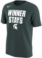 Nike Men's Michigan State Spartans Selection Sunday Tee