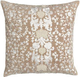 "Callisto Home Avalon Square Pillow with Natural Ground, 22""Sq."