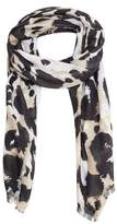 MANGO Animal print scarf