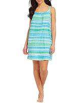 Lauren Ralph Lauren Striped Jersey Chemise