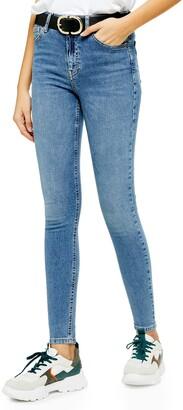 Topshop Jamie High Waist Ankle Jeans