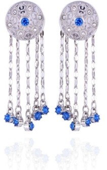 Nanette Lepore Extra Celestial Button Earrings with Fringe