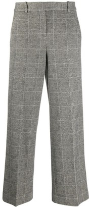 Circolo 1901 Check Wide-Leg Trousers