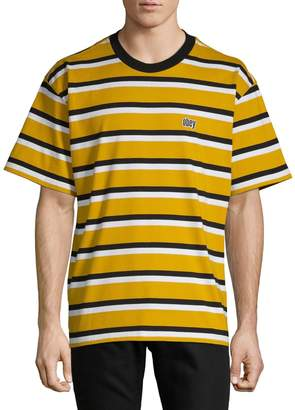 Obey Striped Cotton Tee