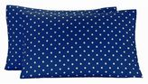 Dottie Pillowcases, Set of Two, Royal Navy