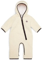 Moncler Infant Unisex Hooded Coverall - Sizes 3-12 Months