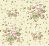 York Wall Coverings York Wallcoverings 60.75 sq. ft. Waverly Cottage Sweet Violets Wallpaper