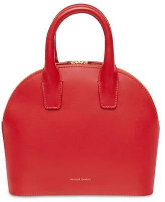 Mansur Gavriel Calf Mini Top Handle Bag - Flamma