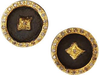 Armenta Old World Crivelli Star Disc Earrings