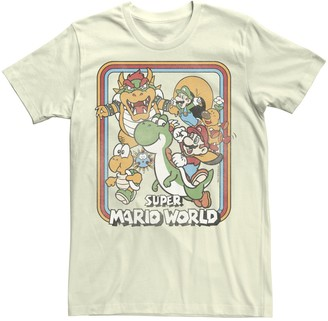 Nintendo Men's Super Mario Yoshi Ride Tee