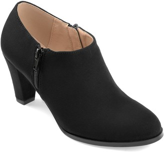Journee Collection Sanzi Heeled Ankle Bootie