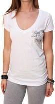 Metal Mulisha Women's Ready To Go Short Sleeve V-Neck T-Shirt