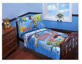 Disney Toy Story - Toys in Action Toddler Bedding 4-Piece Set