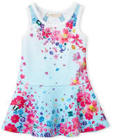 Baby Sara Infant Girls) Jewel Printed Dress