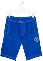 Diesel back pocket shorts - kids - Cotton - 14 yrs