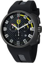 Ferrari Men's FE-10-GUN-CG-FC Rubber Analog Quartz Watch