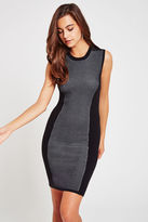 BCBGeneration Duo-Tone Sweater Dress - Black