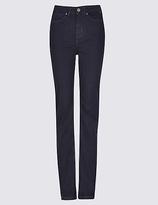 Per Una Rivet Detail High Waist Straight Leg Jeans