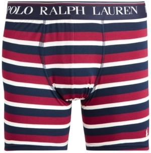 Polo Ralph Lauren Men's Striped Stretch Boxer Briefs