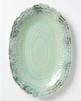 Anthropologie Old Havana Platter, Turquoise, 31.8cm