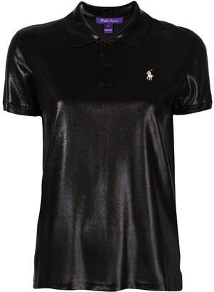 Ralph Lauren high shine polo shirt