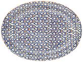 Pols Potten Dakara Triangle 38cm Oval Platter