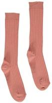 Bonton Ribbed Socks
