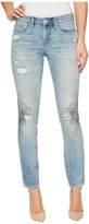 Blank NYC Floral Detail Distressed Skinny in Going Digital Women's Jeans