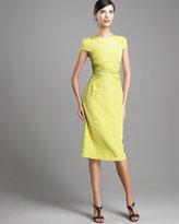 JASON WU Printed-Waist Sheath Dress