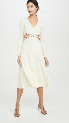 Dion Lee Pinnacle Braid Dress