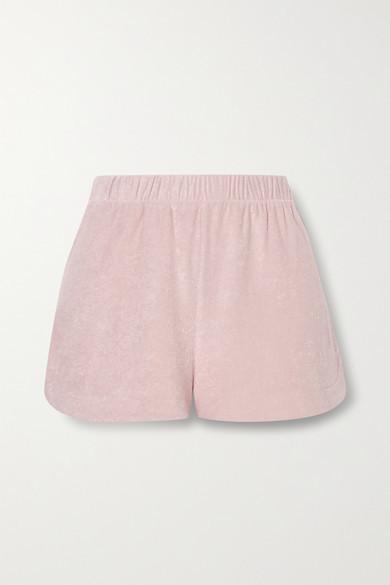 CALÉ Gisele Terry Shorts - Blush