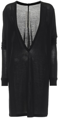 Rick Owens Dylan oversized knit top