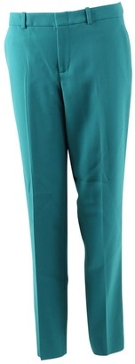 Gucci Green Cloth Trousers for Women
