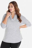 Fashion to Figure Mina Cowl Neck Hacci Sweater