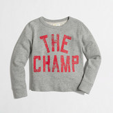 J.Crew Factory Factory boys' champ sweatshirt