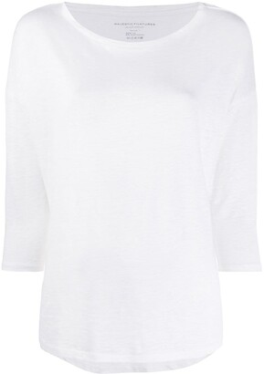 Majestic Filatures boxy fit T-shirt