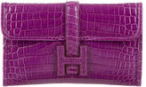 Hermes Mini Crocodile Jige Clutch