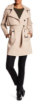 Andrew Marc Taylor Detachable Hood Trench Coat