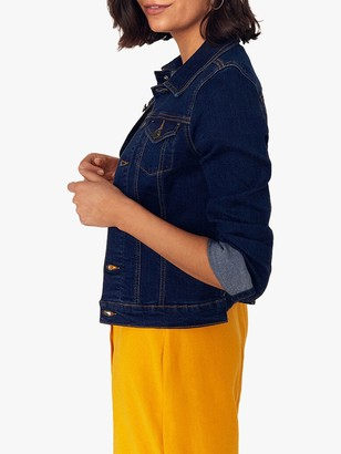 Oasis Nancy Denim Jacket, Indigo